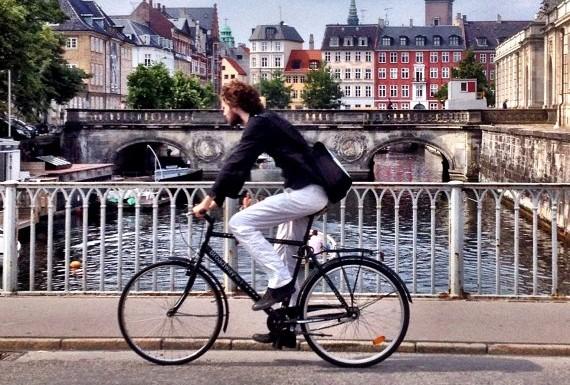 Cyklist i Koebenhavn